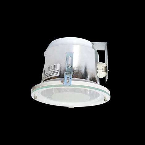 Luminária de embutir redonda vertical