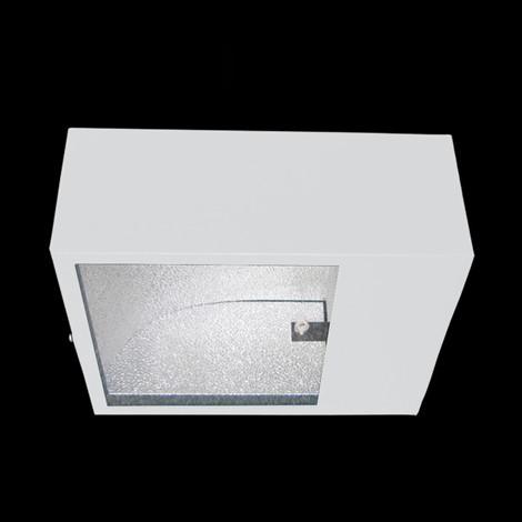 Luminária para poste retangular
